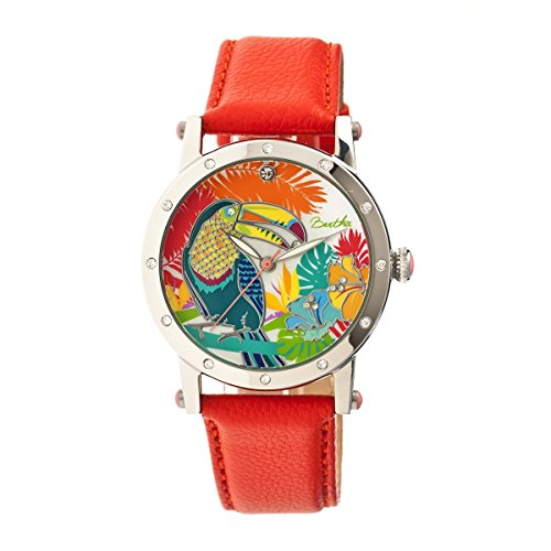 bertha-womens-gisele-mother-of-pearl-orange-leather-watch