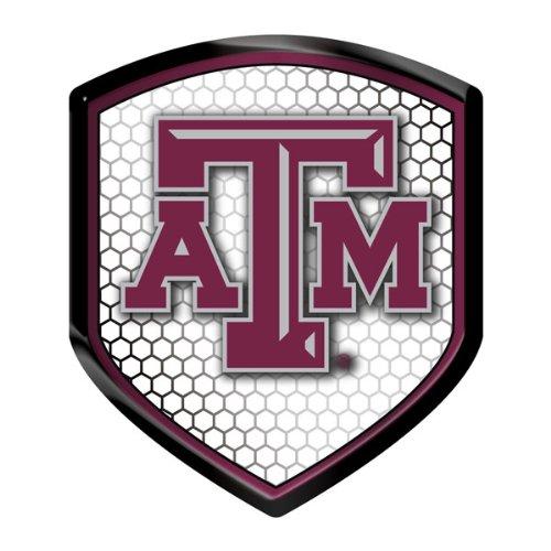 Texas A/&m Aggies Shield Style Reflector Hall of Fame Memorabilia
