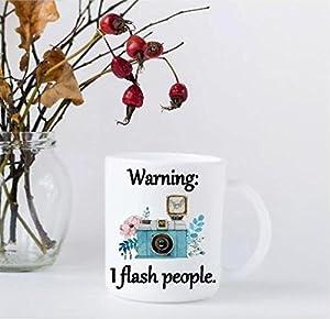 Photography Gift - 11 ouce Coffee Mug - I Flash People