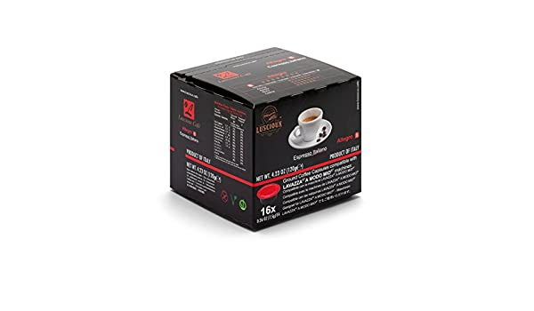 LUSCIOUX Allegro - Lavazza A Modo Mio Compatible Coffee Capsules   Pack of 12 [Total 192 capsules]: Amazon.com: Grocery & Gourmet Food