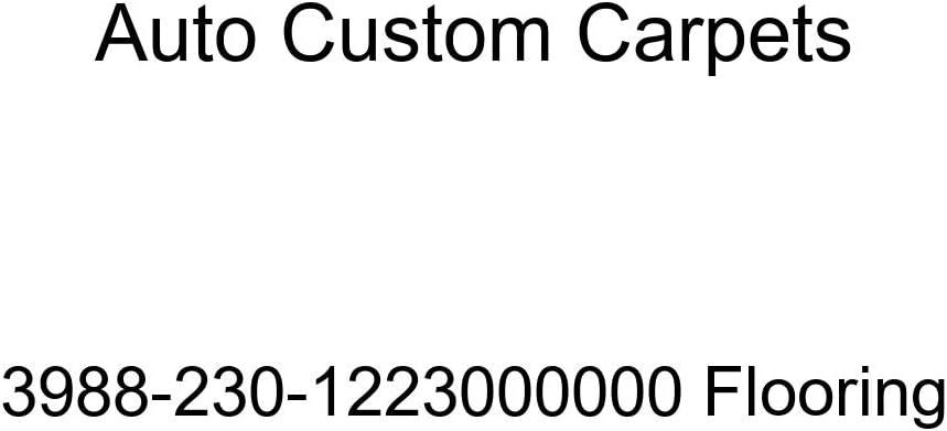 Auto Custom Carpets 3988-230-1223000000 Flooring