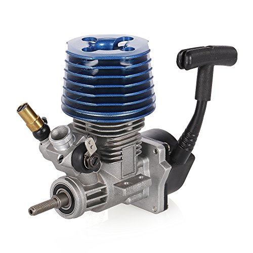 Goolsky 2.49CC 15 Side Exhaust Hand Pull Starter Engine for 1/8 1/10 RC Off-Road Buggy Monster Truck On-Road Racing Car