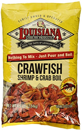 - Louisiana Fish Fry Crawfish, Shrimp & Crab Boil Seasoning (4.5 Pounds)