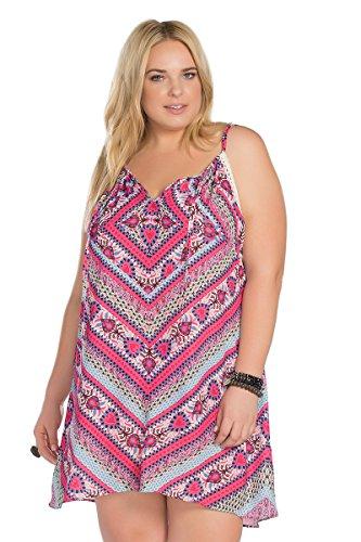 Becca-ETC-Womens-Plus-Size-Secret-Garden-Woven-Dress-Cover-Up-2X-BeccaEtc16Mlt