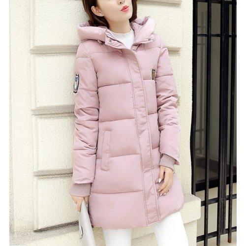 L'hiver Adrienne Mode Xxl Femme Doudoune Capushe Coton Manteau Rembouré Veste 2016 Violet À Montagne Taille RUgdwqXd