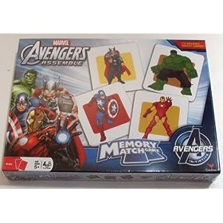 Marvel Avengers Memory Match Game with Thor, Iron Man, Capt America, Hulk