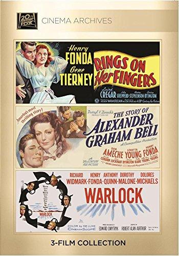 Rings On Her Fingers 1942; The Story Of Alexander Graham Bell 1939; Warlock 1959