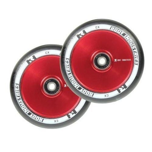 Root Industries Air Wheels red/black 110mm (Pair) [並行輸入品] B075K3CN1C
