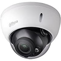 Dahua 4MP Dome POE IP Camera IPC-HDBW4431R-ZS,2.7-12mm Motorized Varifocal Lens Optical Zoom ,IP67,IR Day and Night,SD Slot, Outdoor Security Surveillance Camera H.265 ONVIF International Version