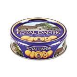 Royal Dansk Cookies Danish Butter 12oz Tin Case Pack 10