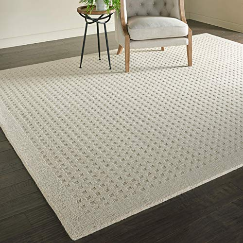 Stone & Beam Casual Geometric Wool Rug, 9