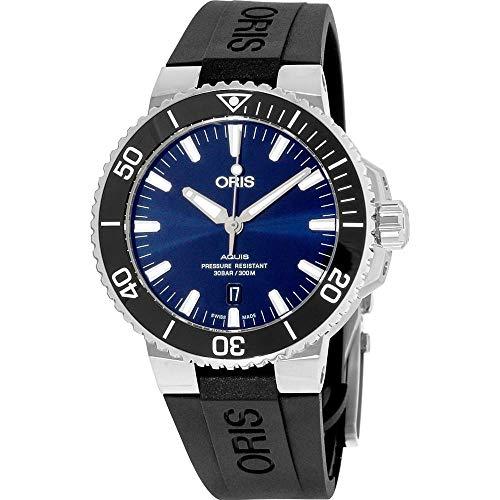 Oris Diving Analog Blue Dial Men's Watch – 01 733 7730 4135-07 4 24 64EB