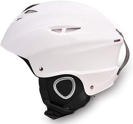 Amazon.com: XY&CF Ski Helmet Men and Women ski Equipment Protective Gear  Protective Head Adult Children Veneer Helmet: Sports & Outdoors