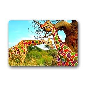 Generic dos Colorful Lovely jirafa Felpudo (23.6por 15.7-inch)