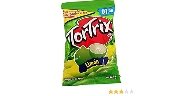 Amazon.com : Tortrix Lemon 0.88 oz (Pack of 12) - Limon (Pack of 1) : Grocery & Gourmet Food