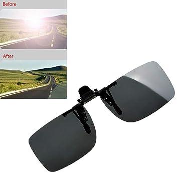 Gafas de sol polarizadas con clip para conducción nocturna ...