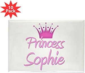 "CafePress Princess Sophie Rectangle Magnet, 2""x3"" Refrigerator Magnet (10 pack)"