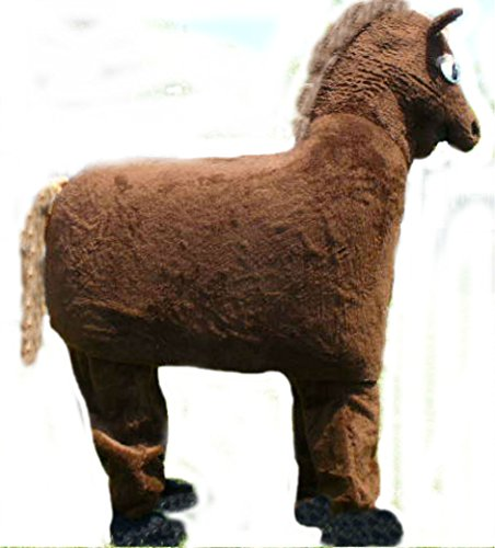 cjs huggables Mascots USA Custom Pro Low Cost Two Person Horse Mascot Costume]()