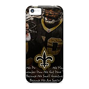 Premium New Orleans Saints Back Cover Snap On Case For Iphone 5c