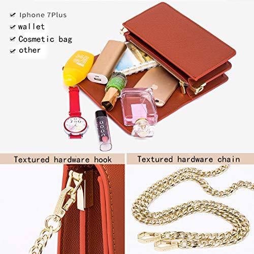Handbag D Cuadrado Ins Colgante Mujer Pequeño Súper Hombro Señoras Las De Cadena Agarrado Bolso Femenino La Fuego b rXSTr7F