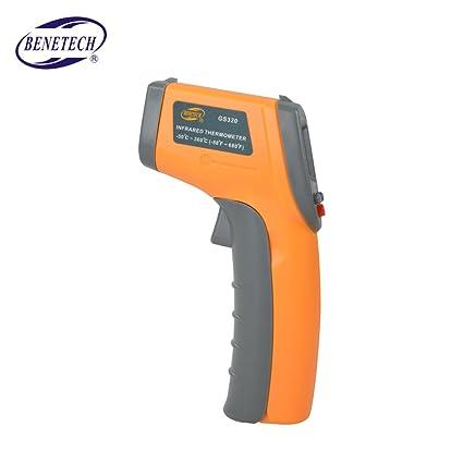 Topker GS320 Termómetro infrarrojo digital infrarrojo Medidor de temperatura sin contacto -50 ~ 360 ?