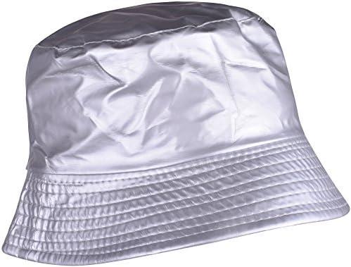 839c3f767dd YJDS Womens Rain Hats Wide Brim Waterproof Packable Bucket Hat For Men and  Women