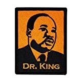 David Cherry Artist Iron On Patch - Martin Luther King - RARE!