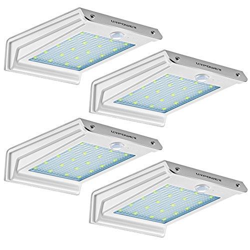 Solar Lights Urpower 20 Led Outdoor Solar Motion Sensor Lights Solar Powered Wireless