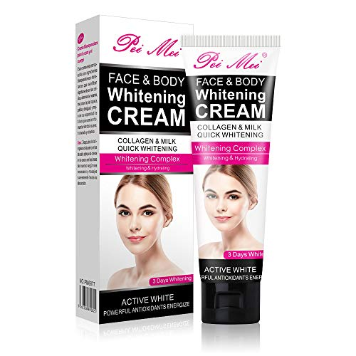 Body Cream, Sky-shop Moisturizing Cream Body Cream Face Cream Whitening Cream For Dark Skin Bleaching Brightening Body Lotion Whitening Cream Armpit Whitener Cream (120ml)