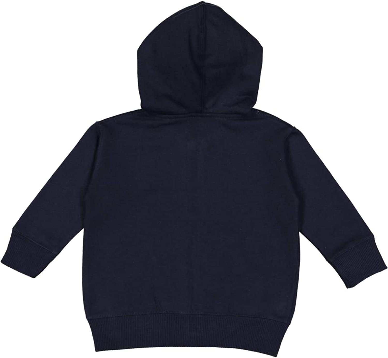 Rabbit Skins Infant Fleece Long Sleeve Full Zip Hooded Sweatshirt with Pouch Pockets Navy 12 Months