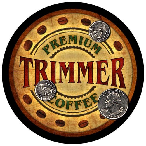 (4 pack - Trimmer Family Coffee Neoprene Drink Coasters)