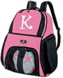 Broad Bay Personalized Girls Soccer Backpack Ball Carrier Bag