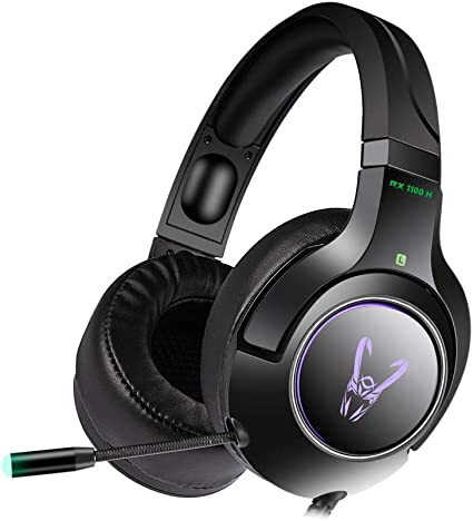 Woxter Stinger RX 1100 H - Auriculares Gaming Profesionales Led ...