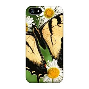 Awesome Case Cover/iphone 5/5s Defender Case Cover(tiger Swallowtail Butterfly)