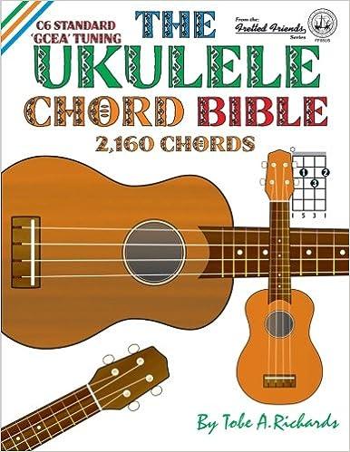 Amazon The Ukulele Chord Bible Gcea Standard C6 Tuning