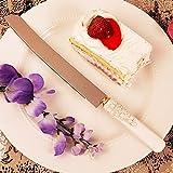 Floral Handle Cake Knife - Set of 36