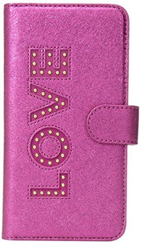 Michael Kors Love Folio Phn Cse Tab 7+, Ultra Pink by Michael Kors (Image #1)
