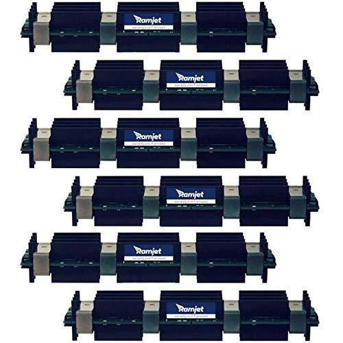 Ramjet 24GB DDR2-800 FB-DIMM Fully Buffered PC2-6400 DDR2 800Mhz ECC Kit for Apple Mac Pro - Model Id 3,1 - (6x 4GB)