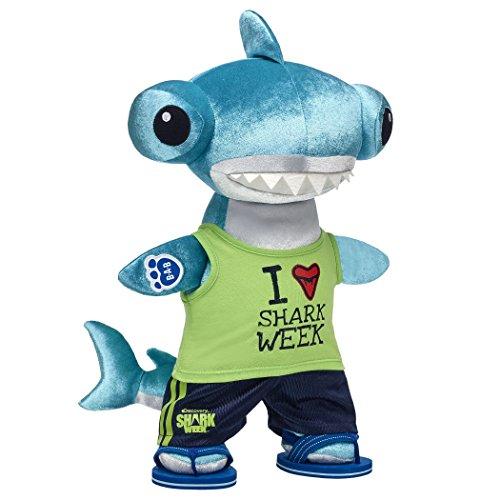 Build A Bear Workshop Shark Week Plush Hammerhead Shark Gift Set