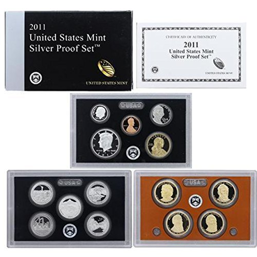 2011 US Mint Silver Proof set - Us Set Silver Proof Mint