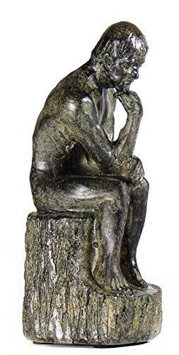 (Bellaa 22678 The Thinker Statue Rodin Fine Art Sculpture)