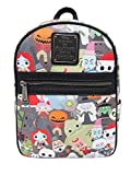 Loungefly x Nightmare Before Christmas Chibi Character Mini Backpack (One Size, Multi)