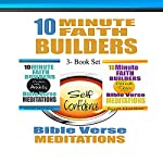 10 Minute Faith Builders: Bible Verse Meditations, 3 Book Set | Scott Gordon