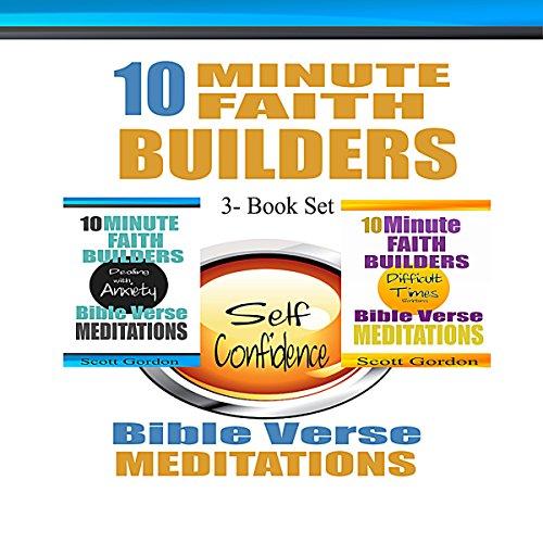 10 Minute Faith Builders: Bible Verse Meditations, 3 Book Set