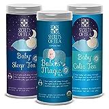 Secrets of Tea - Babies Colic, Babies Magic, & Babies Sleep Bundle - USDA Organic - All Natural Herbal Tea - Helps Relieve Acid Reflux, Bloating, and Crying for Better Sleep