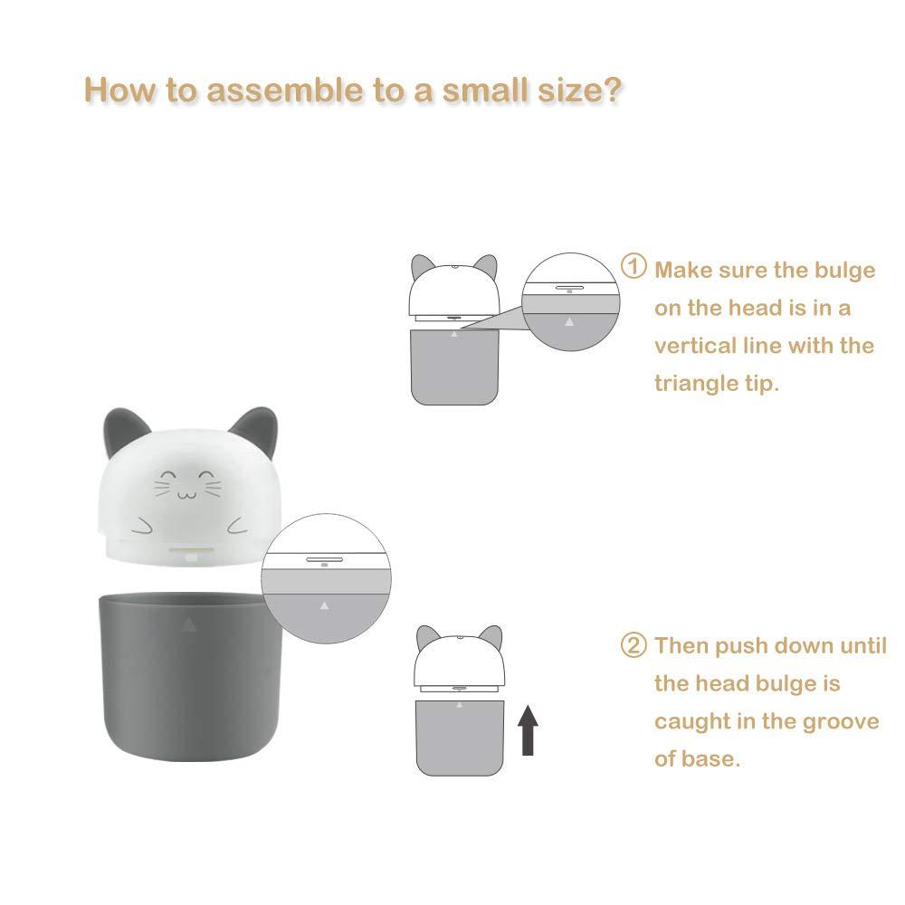 Beb/é Port/átil Esterilizador De Biber/ón UV Ozono PP Material Dise/ño De Calentador Inteligente Para Beb/é Botella De Enfermer/ía Juguete