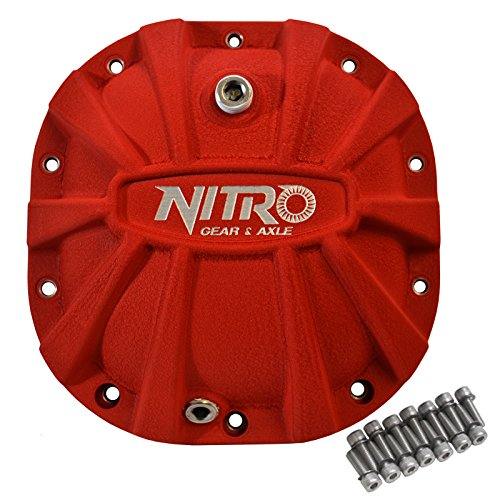 Nitro NPCOVER-F8.8-RED Red Differential Cover (Differential 8.8 Ford Cover)