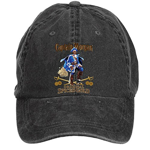 Niceda Unisex Captain Morgan Sun Visor Baseball Caps