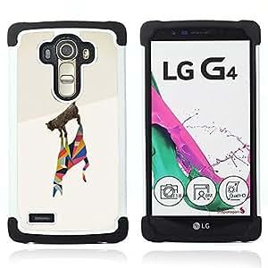 For LG G4 H815 H810 F500L - cat poly art minimalist metaphor deep Dual Layer caso de Shell HUELGA Impacto pata de cabra con im??genes gr??ficas Steam - Funny Shop -