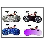 YISAMA-Copertura-biciclette-house-di-interno-per-bicicletta-sporcizi-libero-e-decorativo-Motive-blue-bici